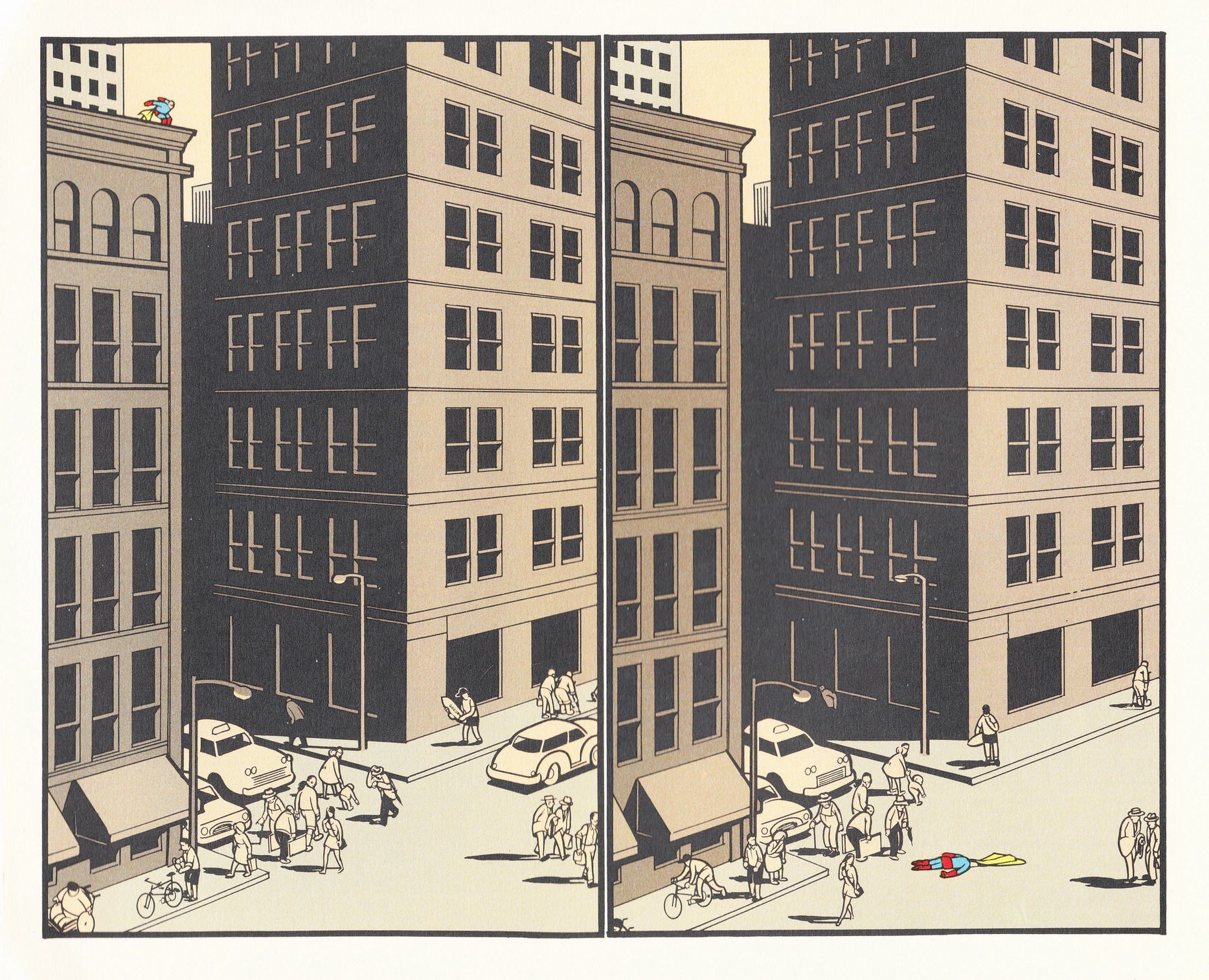 © Chris Ware, Jimmy Corrigan (Pantheon, 2000)