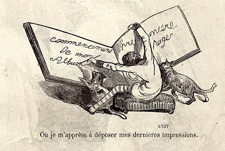 Gustave Doré, « Une Ascension au Mont Blanc », Petit Journal pour Rire, n° 229, 1860. Source : BMVR de Nice. Via Töpfferiana